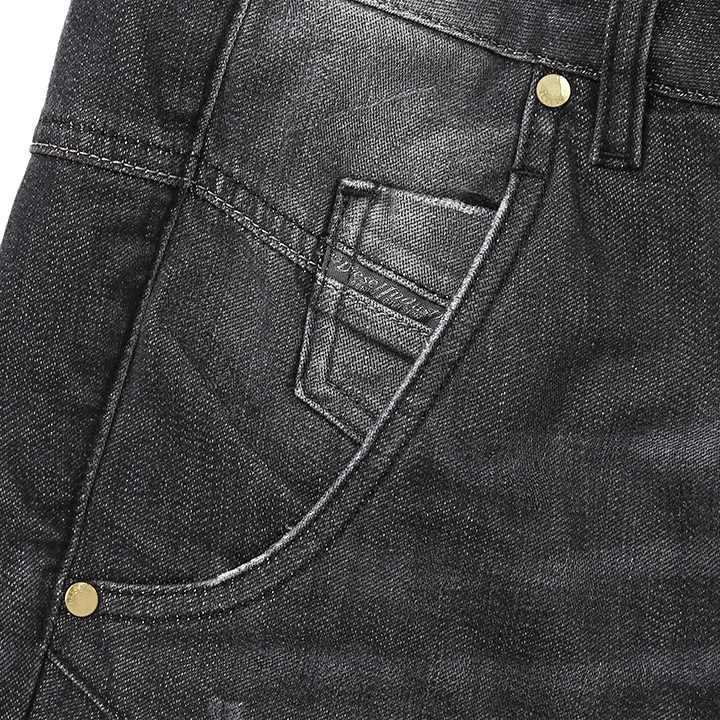 5c1dfb6c ... ☆DIESEL diesel Lady's ☆ ユーズドダメージ processing stretch boyfriend jeans  denim underwear die-l-p ...