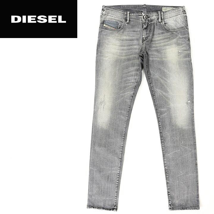 eb36984b ☆DIESEL diesel Lady's ☆ crash damage processing stretch supermarket slim  Kinney jeans denim underwear die ...