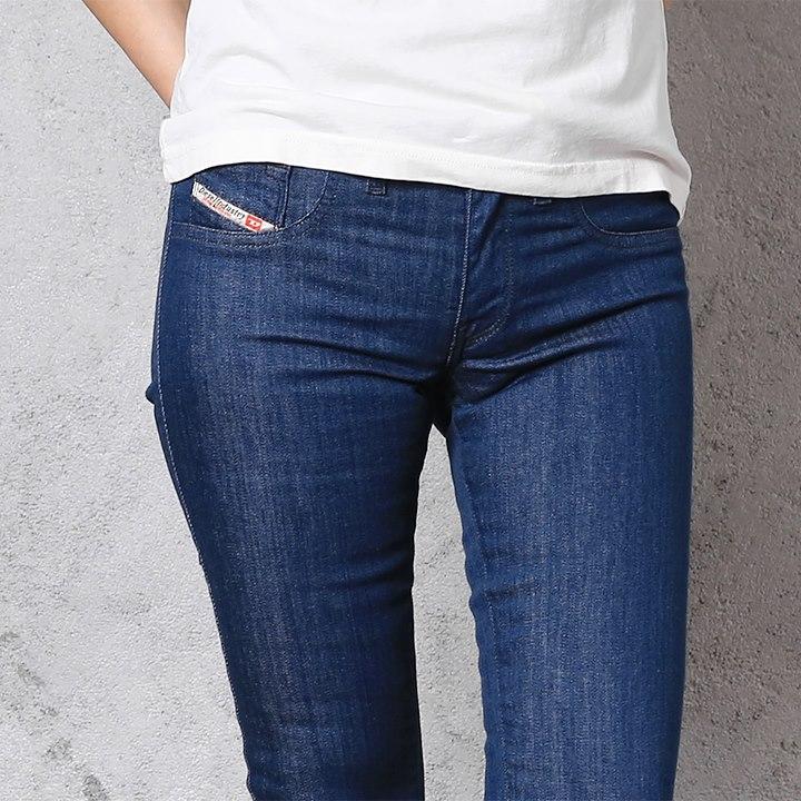 979e42c2 ... ☆DIESEL diesel Lady's ☆ fake pocket stretch supermarket slim flare  bootcut bell-bottom jeans ...