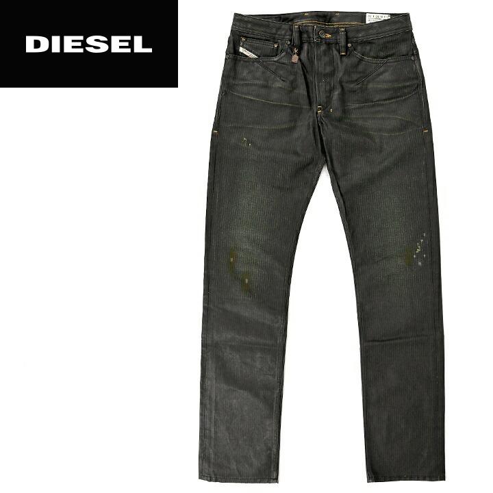 free shipping c81f0 85eb1 ■DIESEL diesel men ■ vintage processing damage processing oil coating  hickory denim slim Kinney jeans denim underwear die-m-p-90-150 << maker  hope ...