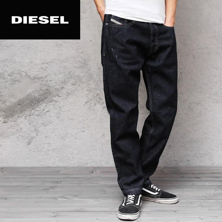 4963caa3 □DIESEL diesel men □ crash processing regular carrot tapered jeans denim  underwear die-m-p ...