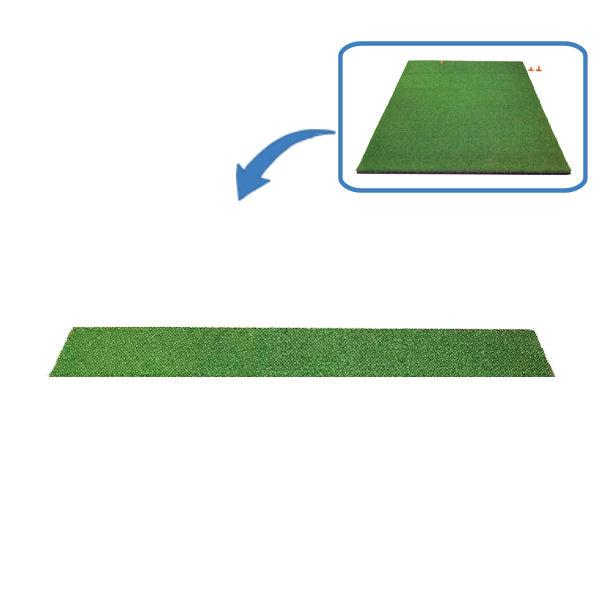 本格派!ゴルフ練習用マット 【グリーンターフティーマット ウッド用 TN-15-2021】1000cm×30cm