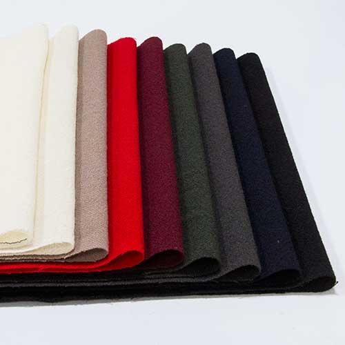 ウール【TX37500】【無地】【送料無料】【ウール生地】カラー全9色【一反単位の販売】【ウールツイード】TX37500☆ジャケットやスカート ワンピースに最適☆ストール 帽子など小物にも
