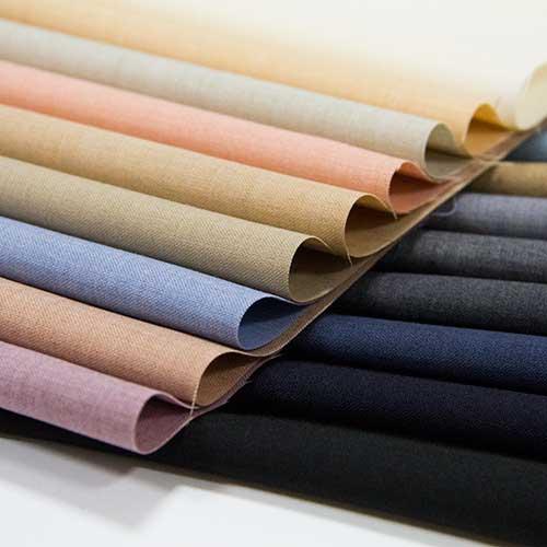 ポリエステル【TX60600】【無地】【送料無料】【合繊生地】カラー全17色【一反単位の販売】【ポリエステルウール】TX60600☆ブラウスやスカート、ワンピース、ストールなど小物にも