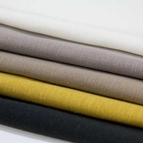 テンセル【TX69890】【無地】【送料無料】【合繊生地】カラー全6色【一反単位の販売】【テンセルリネン】TX69890☆ブラウスやスカート、ワンピースに最適
