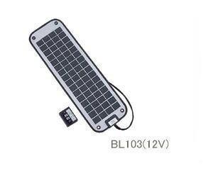 ■ソーラーパネル BL103(12V) 太陽電池・ソーラー・マリン用・取付簡単 釣り フィッシング アウトドア 海 バッテリー