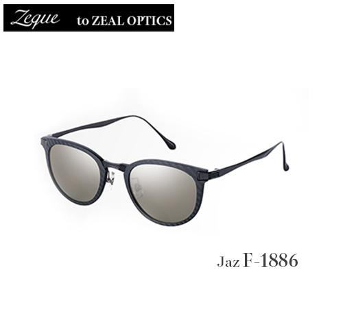 ■Jaz F-1886・偏光サングラス  Zeque/ゼキュー ジール ZEAL OPTICS  グレンフィールド タレックス マリンレジャー 釣り フィッシング