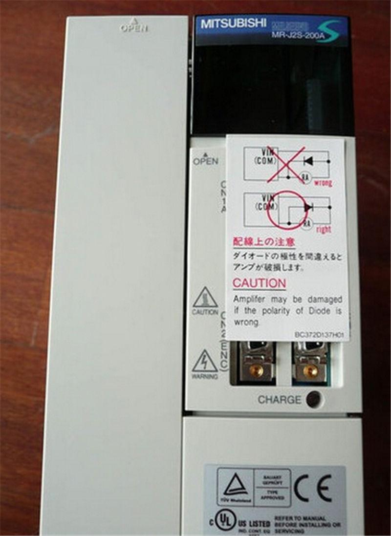 三菱電機サーボアンプ MR-J2S-200A 新品同様/整備済品