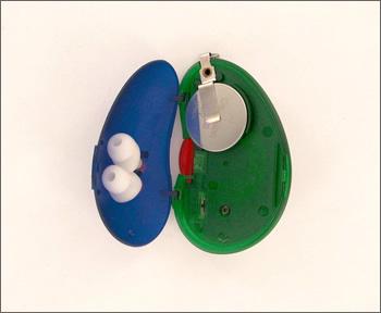 ポケットイヤ 簡易騒音測定器 騒音計測器とイヤプロテクターが可愛くセット ♪【送料無料】【smtb-td】