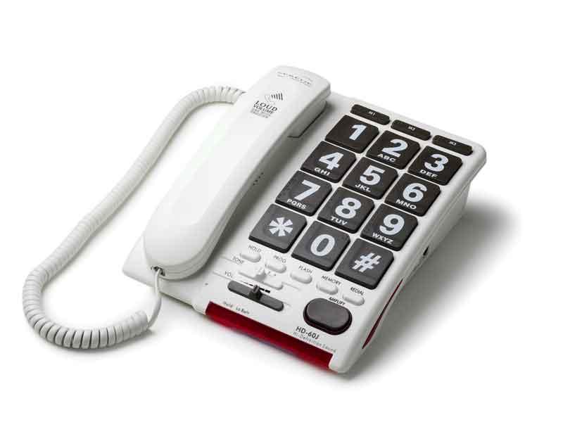 改良型 ジャンボプラス【入荷待ち・予約受付中】~電話の声を文字で~  これ以上声を大きくする電話機はありません 高齢者、難聴者用電話機の決定版 【smtb-td】