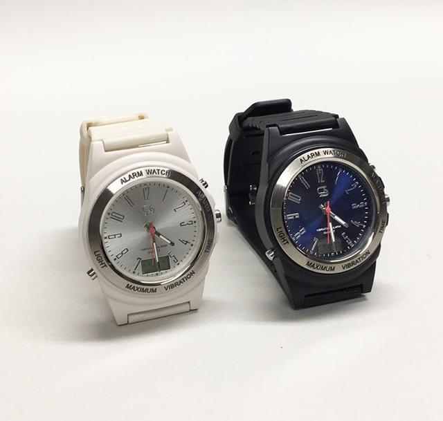 【在庫あり・即納・ポストへ】New Wake V(ウエイク ブイ)強力振動腕時計 もう安心してデートの時間を忘れられます♪ 【smtb-td】