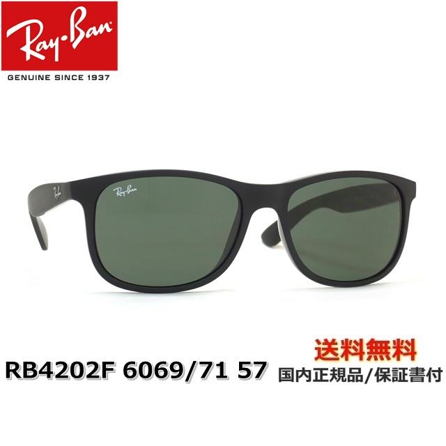 ] [サングラス][ 【送料無料】[Ray-Ban 57 RB4202F サングラス レイバン] 6069/71