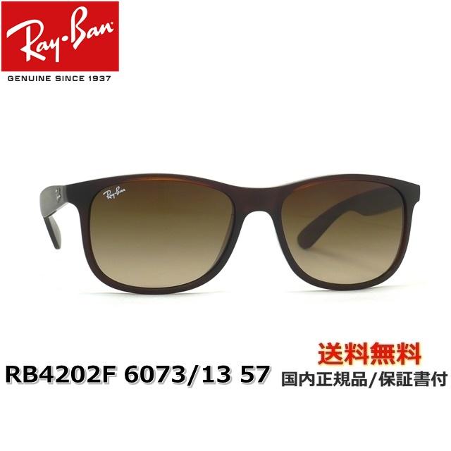 【送料無料】[Ray-Ban レイバン] RB4202F 6073/13 57 [サングラス][ サングラス ]