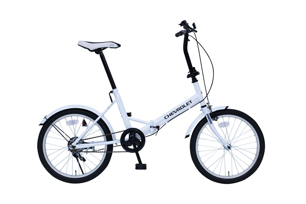 CHEVROLET FDB20E シボレー 20インチ 折り畳み自転車 シングルギア かご無し 365 ミムゴ 折りたたみ 小型 持ち運び おすすめ