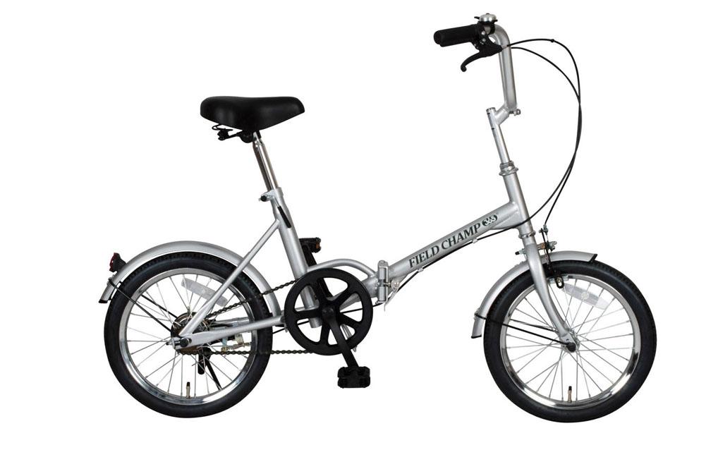FIELD CHAMP365 FDB16 フィールドチャンプ 16インチ かご無し 折り畳み自転車 シングルギア 365 折りたたみ コンパクト 小型 持ち運び おすすめ