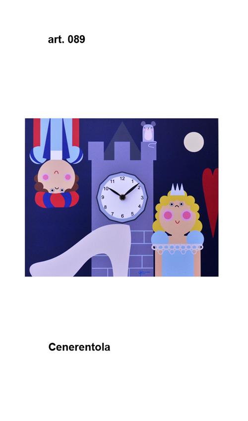 【イタリア製】【外国製 手作り 時計】【壁 掛時計】Pirondini(ピロンディーニ)イタリア職人のハンドメイドクロック cenerentola 掛け時計 art089【成人式 お祝い】【父の日】【クリスマス】【楽のし対応】
