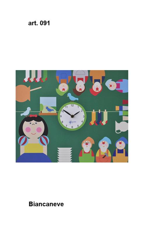 【イタリア製】【外国製 手作り 時計】【壁 掛時計】Pirondini(ピロンディーニ)イタリア職人のハンドメイドクロック biancaneve 掛け時計 art091【成人式 お祝い】【父の日】【クリスマス】【楽のし対応】
