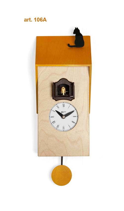 【イタリア製】【外国製 手作り 時計】【鳩 時計】Pirondini(ピロンディーニ)イタリア職人のハンドメイドクロック Vicenza カッコー時計(振り子付き) art106y[送料無料]【楽のし対応】【成人式 お祝い】【父の日】【クリスマス】