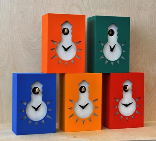 【イタリア製】【外国製 手作り 時計】【鳩 時計】Pirondini(ピロンディーニ)イタリア職人のハンドメイドクロック Night&Day カッコー時計(振り子付き) art116or[送料無料]【楽のし対応】【成人式 お祝い】【父の日】【クリスマス】