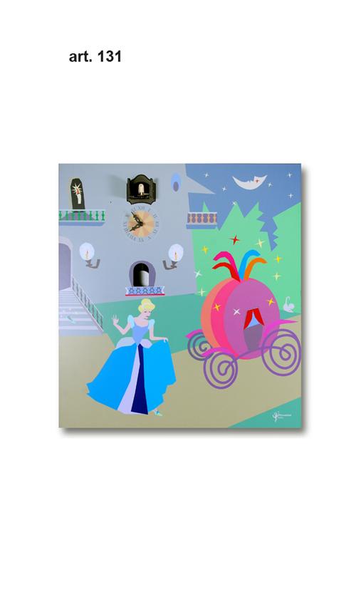 【イタリア製】【外国製 手作り 時計】【鳩 時計】Pirondini(ピロンディーニ)イタリア職人のハンドメイドクロック Cenerentola アートクロック(カッコー時計) art131[送料無料]【楽のし対応】【成人式 お祝い】【父の日】【クリスマス】