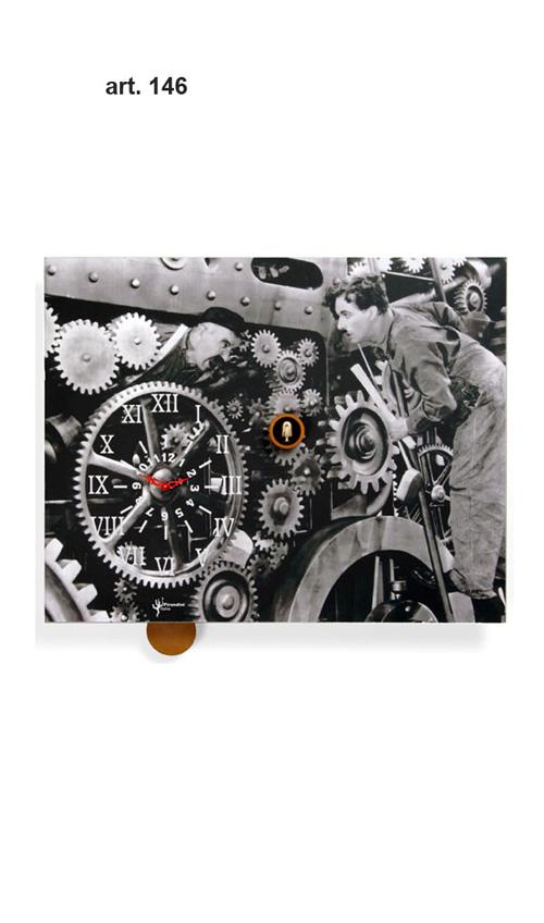 【イタリア製】【外国製 手作り 時計】【鳩 時計】Pirondini(ピロンディーニ)イタリア職人のハンドメイドクロック Charlot カッコー時計(振り子付き) art146[送料無料]【楽のし対応】【成人式 お祝い】【父の日】【クリスマス】