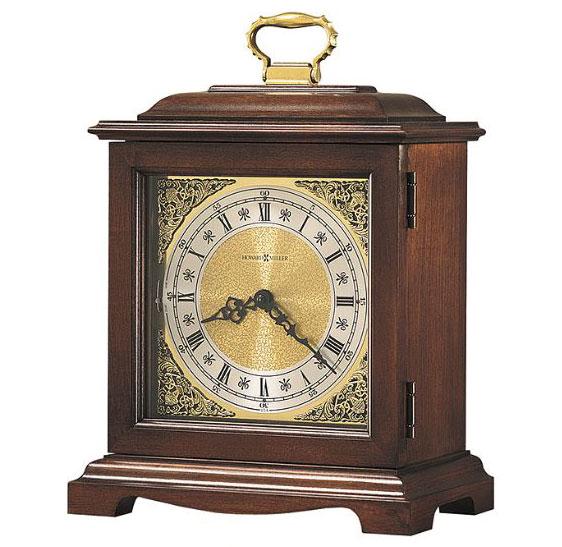 HOWARD MILLER ハワードミラー(アメリカ) Table Clock 置き時計 612-588 Graham Bracket 3 ブラウン 輸入時計 アナログ [ 御祝 御祝い お祝い 記念品 新築祝い 熨斗 ]【クリスマス】