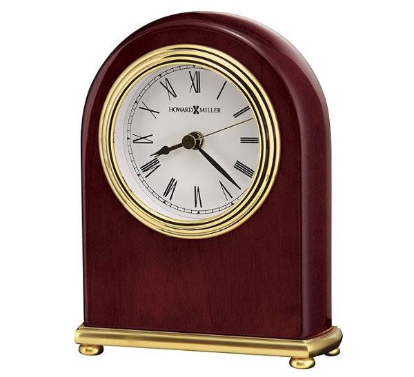 HOWARD MILLER ハワードミラー(アメリカ) Alarm Clock アラーム置き時計 613-487 Rosewood Arch ブラウン系 輸入時計 アナログ [ 御祝 御祝い お祝い 記念品 新築祝い 熨斗 ]【クリスマス】