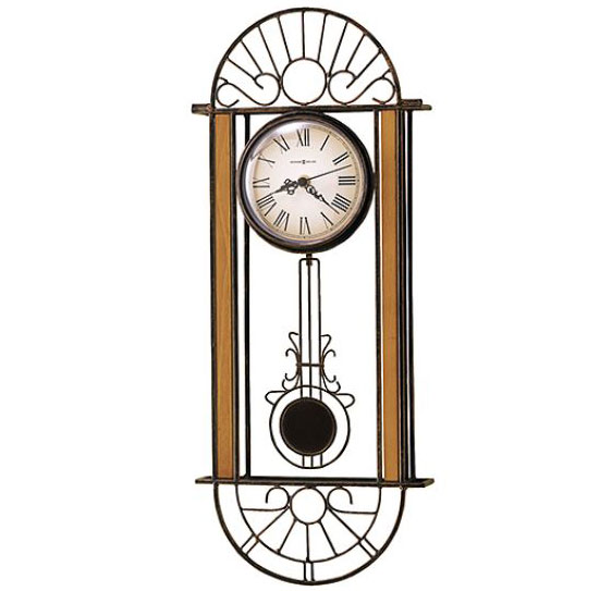 HOWARD MILLER ハワードミラー(アメリカ) Wall Clock 壁掛け時計 625-241 Devahn アンティーク調 輸入時計 アナログ [ 御祝 御祝い お祝い 記念品 新築祝い 熨斗 ]【クリスマス】