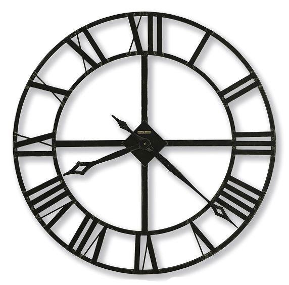 HOWARD MILLER ハワードミラー(アメリカ) Wall Clock 壁掛け時計 625-423 LACY2 ロートアイアン(錬鉄製) チャコールグレー 輸入時計 アナログ [ 御祝 御祝い お祝い 記念品 新築祝い 熨斗 ]【クリスマス】