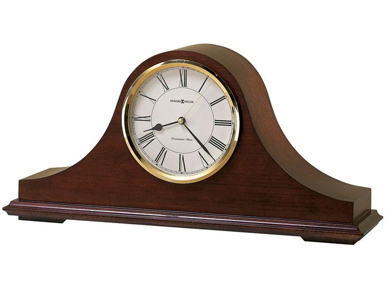 HOWARD MILLER ハワードミラー(アメリカ) Table Clock 置き時計 635-101 Christopher ブラウン 輸入時計 アナログ [ 御祝 御祝い お祝い 記念品 新築祝い 熨斗 ]【クリスマス】