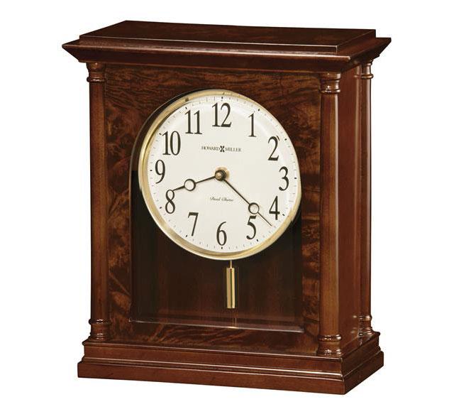 HOWARD MILLER ハワードミラー(アメリカ) Table Clock 置き時計 635-131 Candice ダークブラウン系 輸入時計 アナログ [ 御祝 御祝い お祝い 記念品 新築祝い 熨斗 クリスマス]