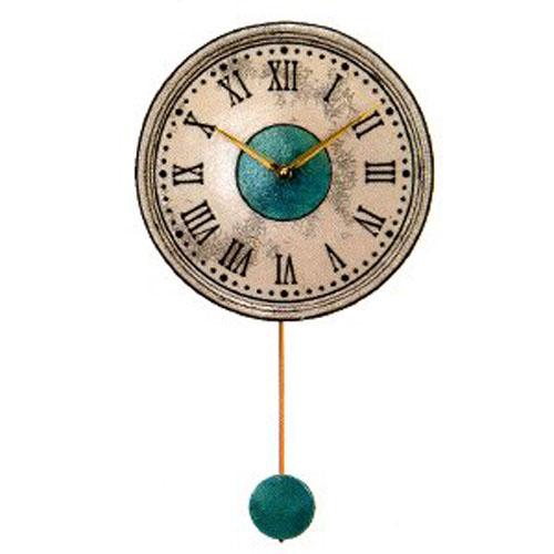 リズム時計工業 ザッカレラZ121 飾り振子付掛時計 イタリア製陶器枠 ZC121-003 [新築祝い 引っ越し祝い 引越し 入学祝い 卒業記念 卒入学 就職祝い 新生活 成人式 お祝い 父の日 クリスマス]