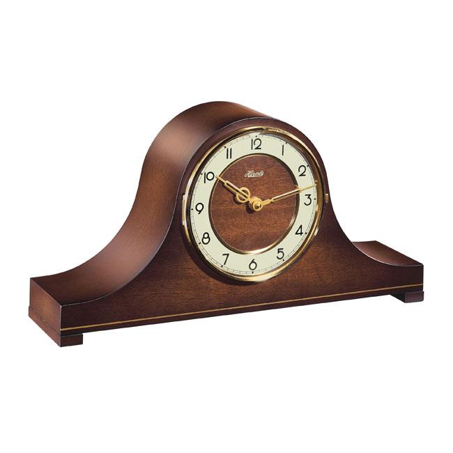 Hermle [ヘルムレ] 高級インテリアクロック Table Clock テーブルクロック 置き時計 クルミ材 クォーツ式 21103-032114[送料無料]【成人式 お祝い】【父の日】【クリスマス】