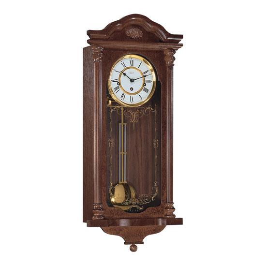 Hermle [ヘルムレ] 高級インテリアクロック Wall Clock 壁掛け時計 振り子 クルミ材 機械式木製 70509-030341[送料無料]【成人式 お祝い】【父の日】【クリスマス】