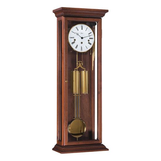 Hermle [ヘルムレ] 高級インテリアクロック Wall Clock 壁掛け時計 振り子 アンティーク・クルミ材 機械式木製 70700-Q10351[送料無料]【成人式 お祝い】【父の日】【クリスマス】
