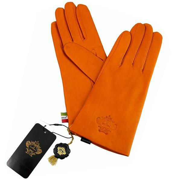 オロビアンコ OROBIANCO レディース手袋 ORL-1582 Leather glove 羊革(ラム)/ウール CAMEL サイズ:7(20cm) キャメル 茶色 [ギフト プレゼント ラッピング無料 お祝い クリスマス]