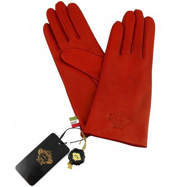 オロビアンコ OROBIANCO レディース手袋 ORL-1582 Leather glove 羊革(ラム)/ウール RED サイズ:7.5(21cm) レッド 赤 [ギフト プレゼント ラッピング無料 お祝い クリスマス]
