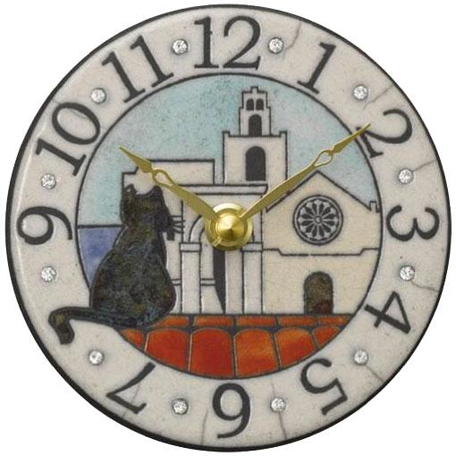 リズム時計工業 ザッカレラ 掛置兼用時計 ZC906-003 ザッカレラZ906 イタリア製陶器枠 アナログ [ 御祝 御祝い お祝い 記念品 新築祝い 熨斗 クリスマス]