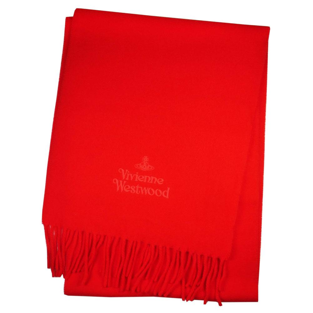 Vivienne Westwood ヴィヴィアンウエストウッド マフラー 2018AW 81030007-10638-h401 RED レッド 赤 レディース メンズ 女性用 男性用 [プレゼント ギフト 就職祝い 入学祝い 卒業記念 新生活 入学式 卒業式 成人式 お祝い バレンタイン クリスマス]