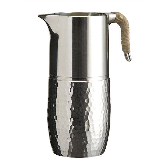 気品と温もりが際立つ錫の燗器「大阪錫器 千呂利 大腰形 桐箱入り」
