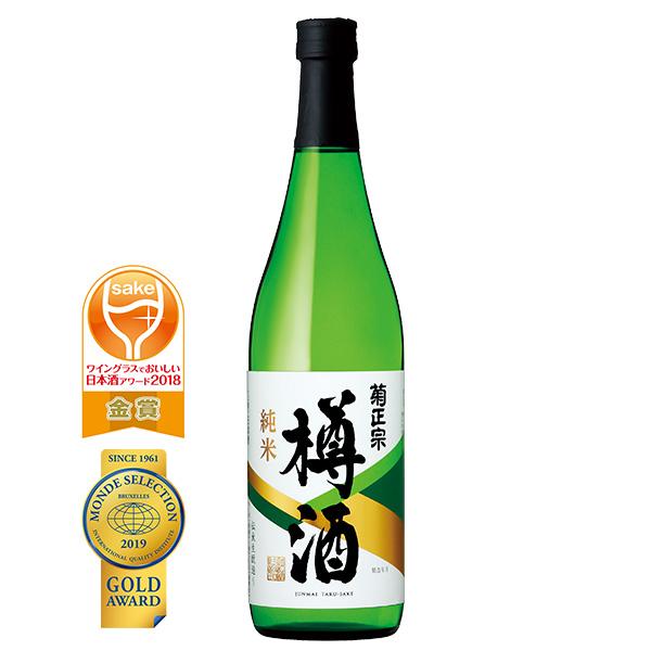 辛口の純米酒を吉野杉の酒樽に貯蔵し 飲み頃を瓶詰めしました DM掲載商品 蔵 菊正宗 本店 720ml 純米樽酒