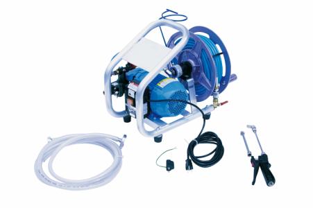 【 横浜油脂:エアコン洗浄用ポンプ ACジェットver.2 リール付き 】