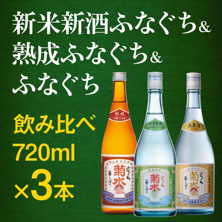 【冬季限定】ふなぐち 3種 飲み比べセット
