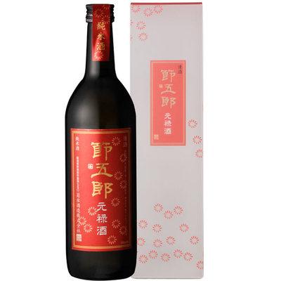 江戸時代の人々が珍重していた 甘味のある油のような酒 の味わいを再現した濃厚芳醇なお酒です 希望者のみラッピング無料 ギフトにオススメの一本です 日本酒 プレゼント 720ml 2020モデル 復刻 贈答 菊水 節五郎 元禄酒