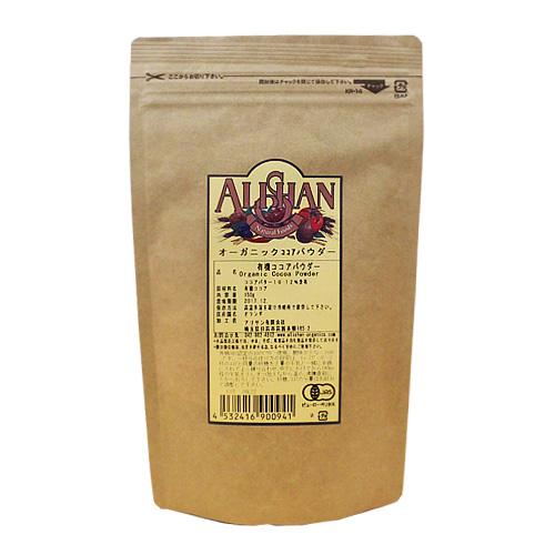 アリサン QAI認定 ココアパウダー 150g / カカオパウダー オーガニック 有機 製菓材料 パン材料