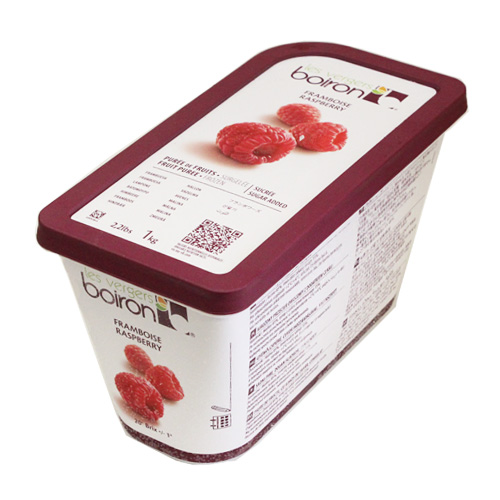 Frozen frambowerspieule 1 kg and baking supplies, baking ingredients, fruit  puree