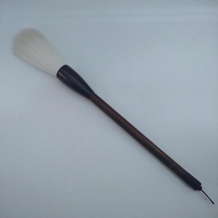 『粗光鋒古羊毛筆』寛文12年菊屋監製 書 書道 筆 毛筆羊毛筆 古羊毛 粗光鋒 作品製作
