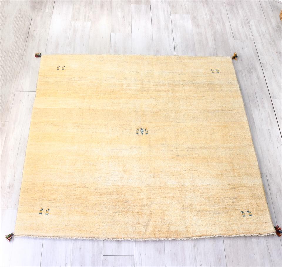 新品入荷 GABBEH ギャッベ 正方形2x2mサイズ195x202cm カシュカイ族手織りラグ GABBEH アイボリー, VIAJERO 本店:8526f4f3 --- agrohub.redlab.site