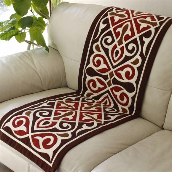 エジプト・ハ-ヤメ-ヤ154x45cmイスラミックデザインが美しいエジプトの手仕事