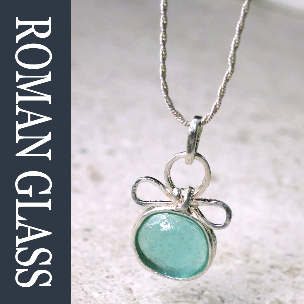 The Roman Glass Company ローマングラスカンパニーガラス シルバーネックレスeH2bE9IWDY